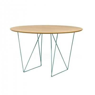 MESA COMEDOR ROW OAK GREEN