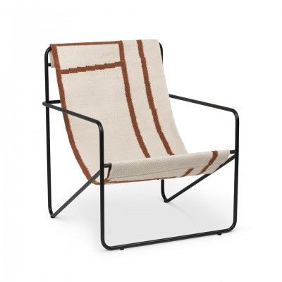DESERT SHAPE LOUNGE ARMCHAIR - FERM LIVING