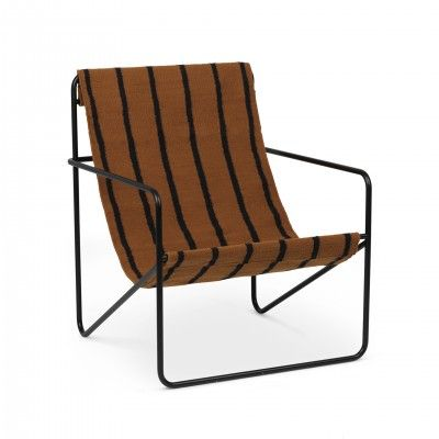 DESERT STRIPES LOUNGE ARMCHAIR II - FERM LIVING
