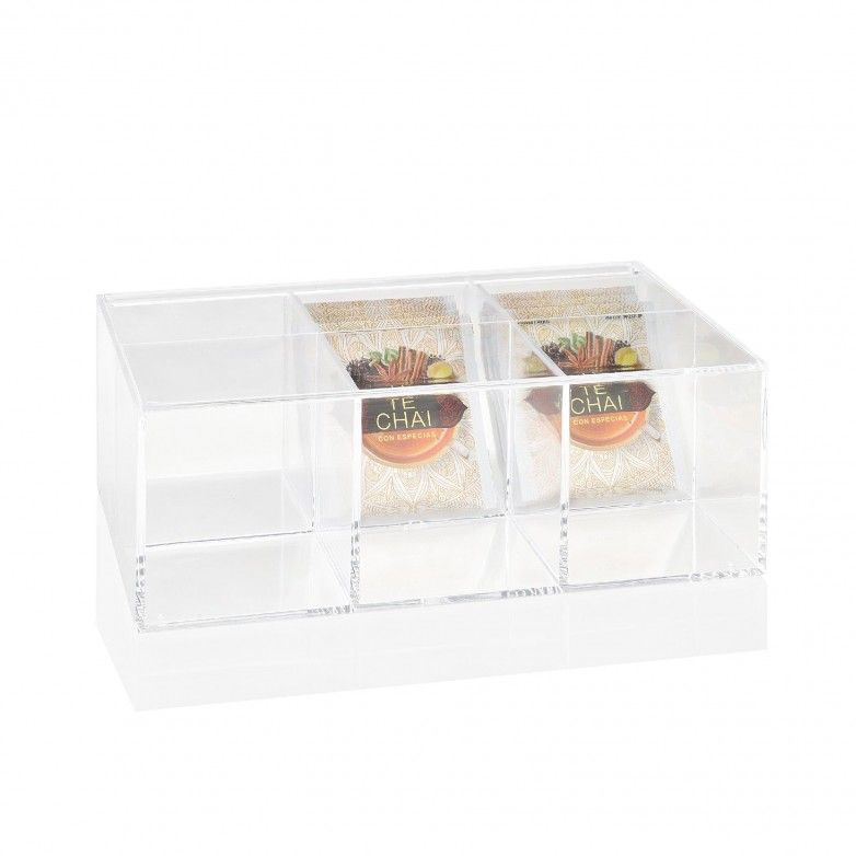 ACRYLIC TEA BOX - ANDREA HOUSE