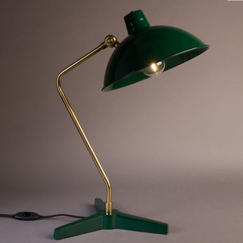 DEVI GREEN TABLE LAMP