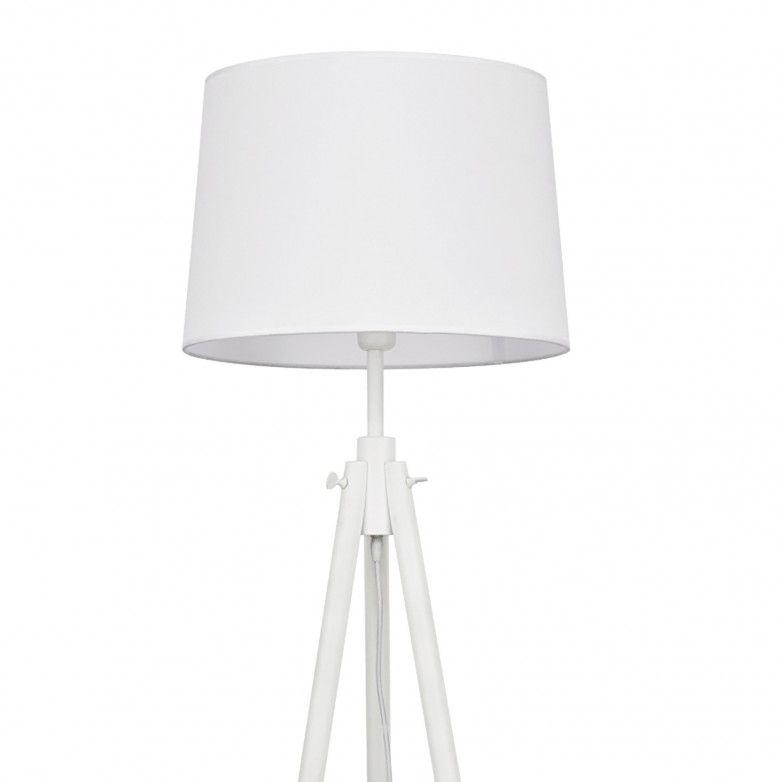 YORK WHITE FLOOR LAMP