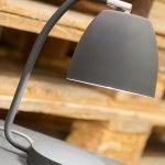 GREY NEWPORT TABLE LAMP
