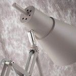 GREY OXFORD TABLE LAMP