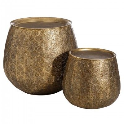 BROLLI SET OF 2 SIDE TABLES