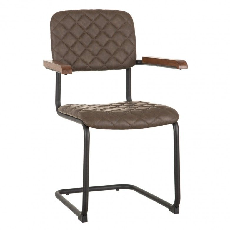 PAULET BROWN CHAIR
