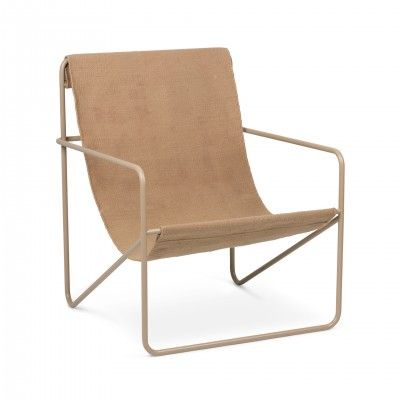 DESERT SIMPLE II LOUNGE ARMCHAIR - FERM LIVING