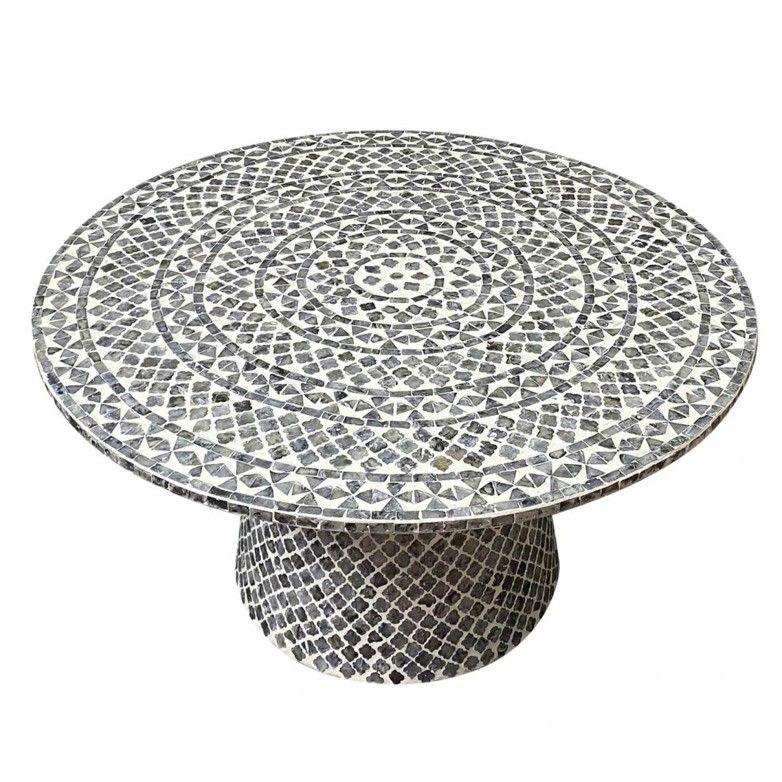 CHURCHILL CIRCLE SIDE TABLE