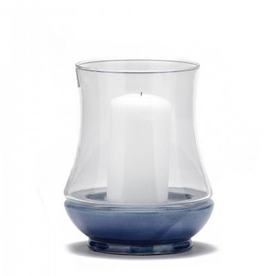 BLUE ENERGY CANDLE HOLDER