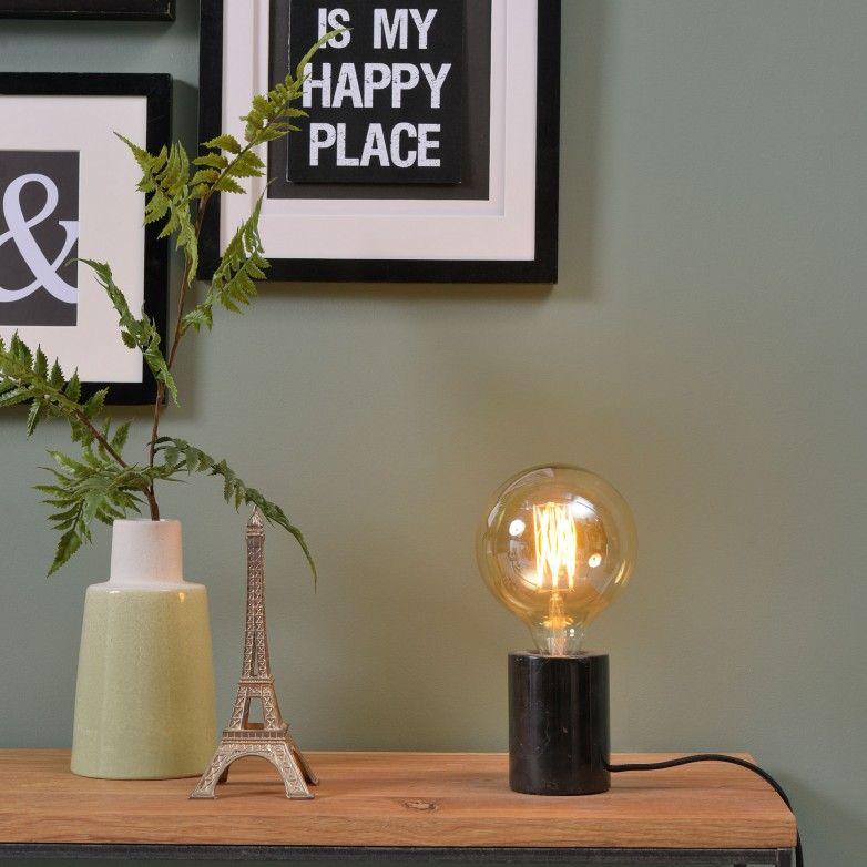 BLACK ATHEN TABLE LAMP