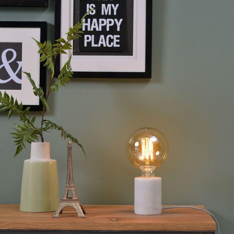 WHITE ATHENS TABLE LAMP