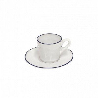 BEJA - COSTA NOVA COFFEE CUPS & SAUCER
