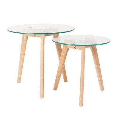 2300070  SIDE TABLE BROR SET OF 2